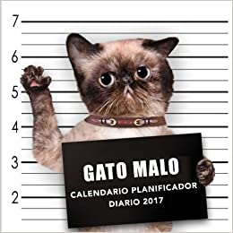 Gato Malo Calendario Planificador diario 2017 (Spanish Edition): Phactory Press: 9781541279766: Amazon.com: Books