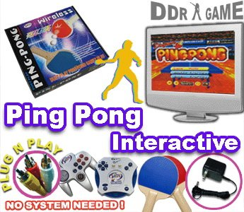 Wireless PingPong TV Video Game product image