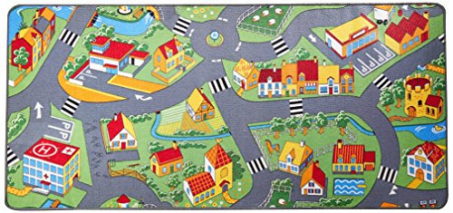 Extra Large Learning Carpets Little Village Toy, 36