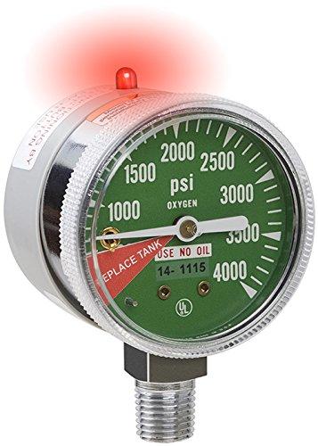 Amazon.com: LO2 Oxygen Alarm Gauge - 1/4