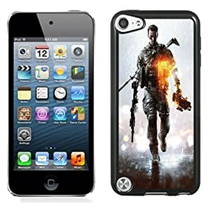 New Personalized Custom Designed For iPod Touch 5th Phone Case For Battlefield 4 Video Game Phone Case Cover Kimberly Kurzendoerfer