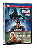 Escape Plan/Gamer/Condemned Dvd Triple Feature