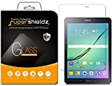[2-Pack] Supershieldz for Samsung Galaxy Tab S2 8.0 Screen Protector, [Tempered Glass] Anti-Scratch, Anti-Fingerprint, Bubble Free, Lifetime Replacement Warranty