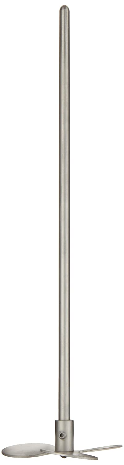 Talboys 152 Propeller Shaft, 3.5' Blade Diameter, 5/16' Shaft Diameter x 12' Shaft Length, Stainless Steel 3.5 Blade Diameter 5/16 Shaft Diameter x 12 Shaft Length Troemner accessory shaft
