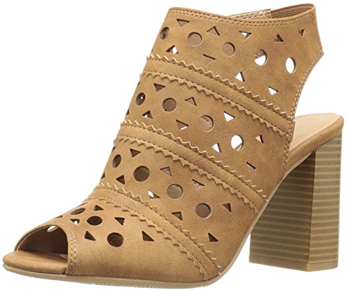 CL by Chinese Laundry Women's Beyond Dress Sandal, Whiskey Nubuck, 9 M (Chinese Whiskey)