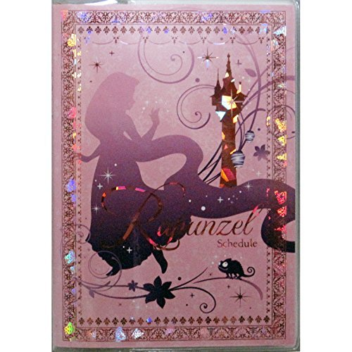 Rapunzel Disney on the 2015Year schedule book 9Yue beginning weekly B6 stamping Silhouette tower