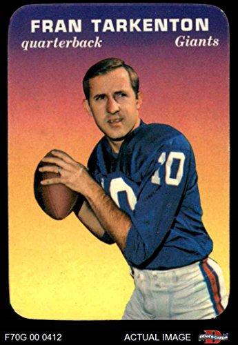 buy online 9c90c 1337b Fran Tarkenton New York Giants Memorabilia, Giants Fran ...