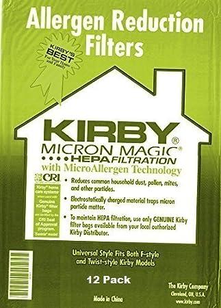 Amazon.com: Kirby Part#204808/204811 - Bolsas de aspiradora ...
