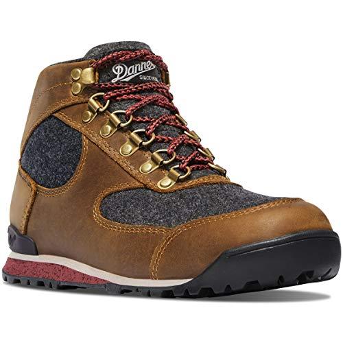 Danner Women's Jag Wool Ankle Boot, elk Brown, 8 M US