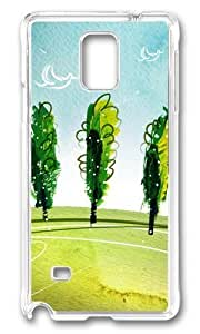Adorable Breath of spring landscape Hard Case Protective Shell Cell Phone Samsung Galaxy S5 I9600/G9006/G9008 - PC Transparent