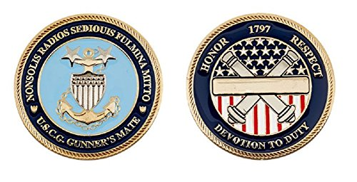 Coast Guard Gunner's Mate Challenge Coin
