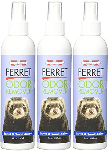 Marshall Ferret Odor Remover ((3 Pack) Marshall Ferret and Small Animal Odor Remover)