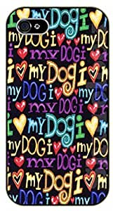 For SamSung Galaxy S3 Case Cover I love my dog - black plastic case / dog, animals, dogs
