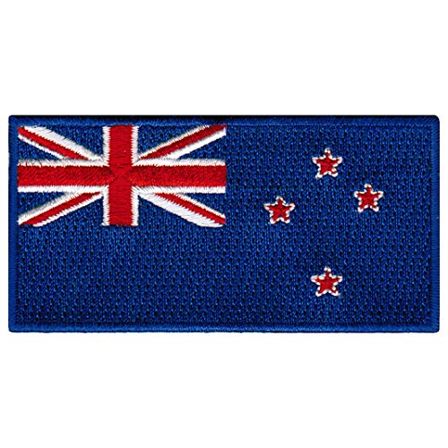NEW ZEALAND FLAG embroidered iron-on PATCH KIWI EMBLEM APPLI