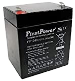 FirstPower Casil ADT CA1240 12V 4Ah SLA Alarm Replacement Battery