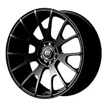 "Motegi Racing MR118 Matte Black Wheel (17x8""/5x114.3mm, +45mm offset)"