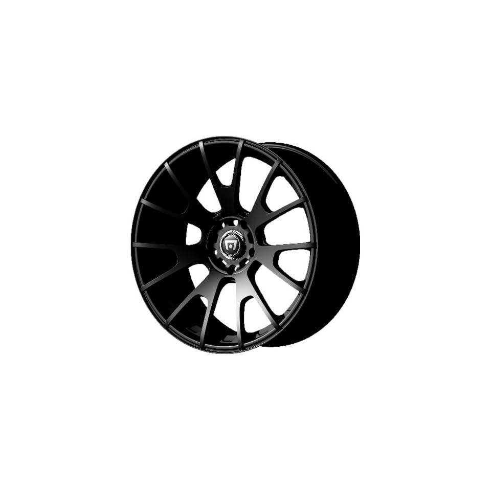 Motegi Racing MR118 Matte Black Wheel (18x8/5x100mm, +45mm offset)