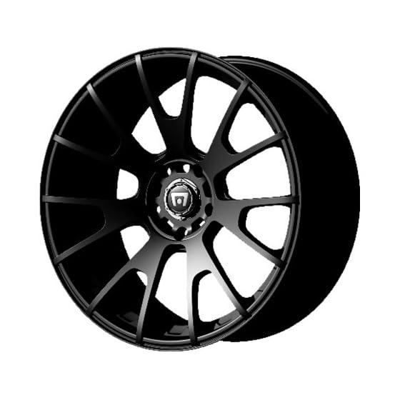 Motegi Racing MR118 Matte Black Wheel (18×8″/5x112mm, +45mm offset)