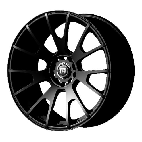 "Motegi Racing MR118 Matte Black Finish Wheel (17x8""/5x120mm)"