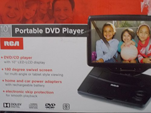 RCA DRC98101S (Rca 10 Portable Dvd Player compare prices)