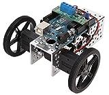 60 x 8mm Black Robot Wheels