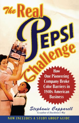 Search : The Real Pepsi Challenge: How One Pioneering Company Broke Color Barriers in 1940s American Business