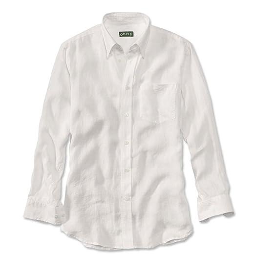 96c809148b88 Orvis Long-Sleeved Pure Linen Shirt