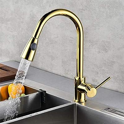 Kitchen Sink Tapskitchen Sink Faucet Mixer Gold Pull Out Kitchen
