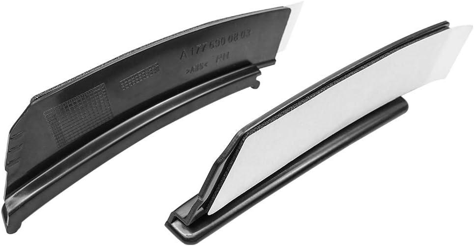 Rear Bumper Trim Lip Spoiler Stickers f/ür A Class W177 Hatchback A180 A250 A35 Wheel Eyebrow Fender