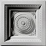 Ekena Millwork CT24X24RO  24-Inch W x 24-Inch H x 2 7/8-Inch P Royal Ceiling Tile