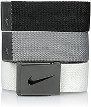 Nike mens 3 Pack Web Belt