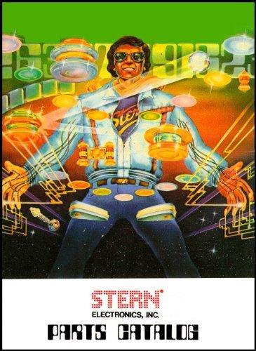 (Stern 1981 Pinball Parts Catalog Manual)