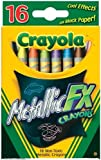 Crayola Metallic FX Crayons (2-Pack of 16)