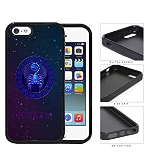 Scorpio Astrological Sign With Horoscope Symbol Rubber Silicone TPU Cell Phone Case Apple iPhone 5 5s