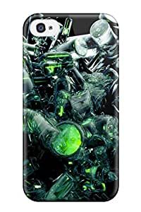 Ultra Slim Fit Hard Mary Elizabeth Mihas Case Cover Specially Made For Iphone 4/4s- D S
