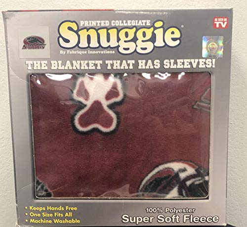(NCAA Southern Illinois Salukis Snuggie, Large, Red)