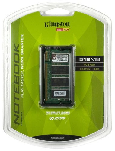 Series Notebook Nx9010 (Kingston ValueRAM 512MB 333MHz PC2700 DDR Notebook Memory (KVR333SO/512R))