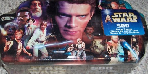 STAR WARS COLLECTIBLE HEROES 500 PC PUZZLE IN COLLECTOR'S TIN