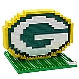 NFL Green Bay Packers Mini BRXLZ Logo Building Blocks, One Size, Green