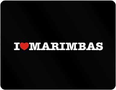 Teeburon I Love Marimbas Plastic Acrylic