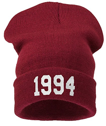 4sold Women's Bad Hair Day Justin Bieber Bourn 1994 Universal 1994 Dark Red Justin Womens Hat