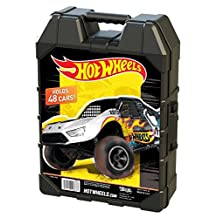 Tara Toy Hot Wheels Molded 48 Car Case - Colors and Styles May Vary