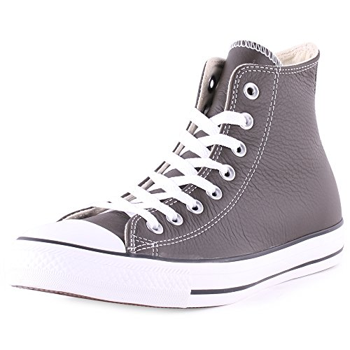 Converse  Chuck Taylor All Star Adulte Seasonal Leather Ox,  Unisex-Erwachsene Sneaker - Gris (Blanc)