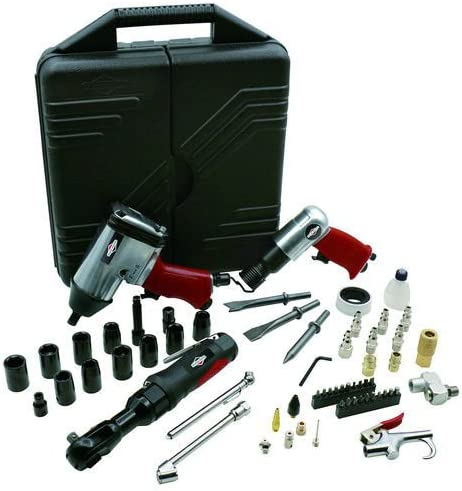 Briggs & Stratton 6392-00 Air Tool and Accessory Kit (62 Piece)