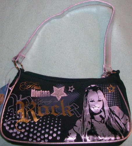 Disney Ready to Rock Hannah Montana Girl Purse/hand Bag