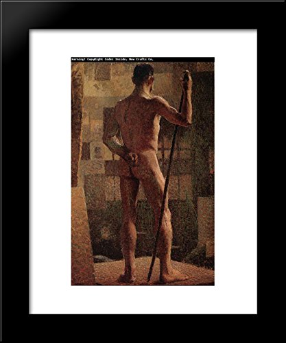 Grant Wood Prints - The Spotted Man 20x24 Framed Art Print by Grant Wood