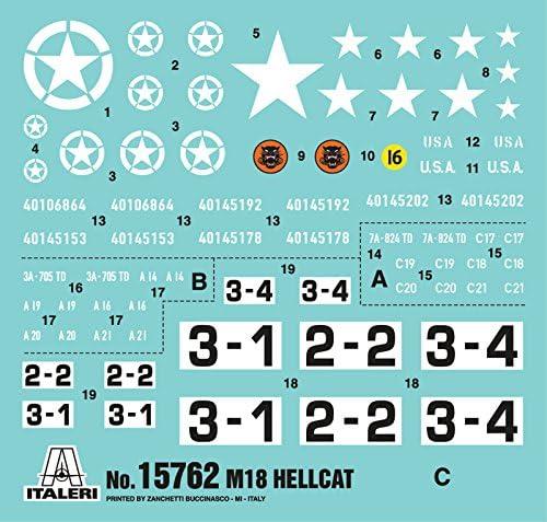 ITALERI 15762 1//56 M18 HELLCAT