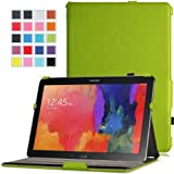 MoKo Samsung Galaxy Note PRO & Tab PRO 12.2 Case - Slim-Fit Multi-angle Folio Cover Case for Galaxy NotePRO & TabPRO 12.2 Android Tablet, GREEN