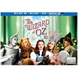 Wizard of Oz: 75th Anniversary Collector's Edition (3D/BD/DVD/UV) [Blu-ray]