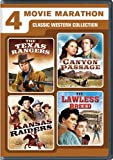 a game ranger on safari - 4 Movie Marathon: Classic Western Collection (The Texas Rangers / Canyon Passage / Kansas Raiders / The Lawless Breed)